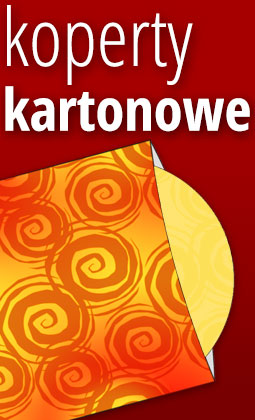 koperty kartonowe do płyt CD DVD